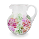 Tropical Floral Pitcher, 2.5 qt.