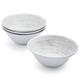 Driftwood Melamine Cereal Bowls, Set of 4