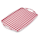 Gingham Tray