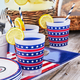 American Flag Cups, Set of 6