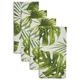 Tropical Palm Napkins, Set of 4