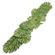 Tropical Palm Leaf Table Runner, 72