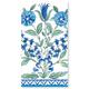 Ceramica Blue Guest Paper Napkins, Set of 15
