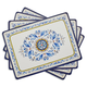 Positano Cork-Backed Placemats, Set of 4