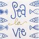Sea La Vie Cocktail Napkins, Set of 20
