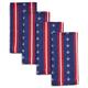 Fourth of July Jacquard Napkins, Set of 4