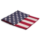 American Flag Wool-Blend Throw, 72