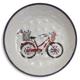 Bicycle Melamine Pasta Bowl