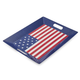Flag Melamine Tray with Handles