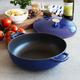 Sur La Table® Blue Braiser, 5 qt.