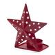 Tin Star Candleholder