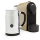 Nespresso® U with Aeroccino Plus Frother Set, Taupe