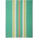 Green Medium-Striped Kitchen Towel