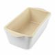 USA Pan Stoneware Loaf Pan, 1 lb.