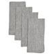 Striped Linen Napkins, Set of 4
