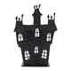 Tin Haunted House Tealight Candleholder