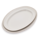 Pearl Stoneware Oval Platters, Set of 2