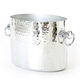 Mauviel® Hammered Aluminum Oval Double Champagne Bucket