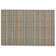 Chilewich Skinny Stripe Shag Mat, Soft Multi