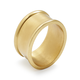 Oval Gold Napkin Ring