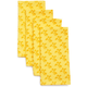 Yellow French Floral Napkins, Set of 4