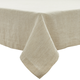 Natural Striped Linen Tablecloth