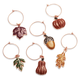 Harvest Wine Charms, Set of 6