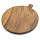 Acacia Wood Round Cheese Paddle