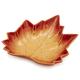Orange Leaf Serving Bowl