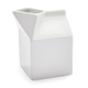 Porcelain Milk Box Creamer
