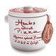 The French Farm Aux Anysetiers du Roy Herbs Special for Pizza in Ceramic Jar