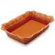 Orange Rectangular Baker, 3 qt.