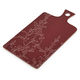 Burgundy Leaves Cheese Paddle