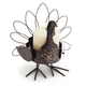 Turkey Pillar Candleholder