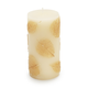 Gold Leaves Pillar Candles