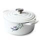 Le Creuset Provence Appliqué Signature Round Dutch Oven, 4.5 qt.
