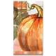 Harvest Pumpkin Guest Napkins, Set of 16