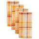 Autumn Plaid Napkins, Set of 4