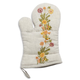 Multicolor Floral Embroidered Oven Mitt