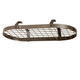 Enclume Hammered Steel Low Ceiling Oval Pot Rack