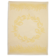 Lemon Yellow Jacquard Kitchen Towel