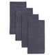 Chambray Quilted Placemats, Set of 4