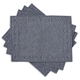 Indigo Quilted Placemats, Set of 4