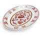 Red Rooster Melamine Oval Serving Platter