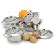 Demeyere RESTO Mini Dutch Ovens with Lids, Set of 4
