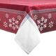 Jacquard Snowflake Tablecloth