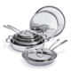 All-Clad d3 Compact 10-Piece Cookware Set