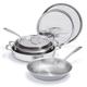 All-Clad d3 Compact 7-Piece Cookware Set
