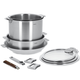 Cristel Strate 11-Piece Cookware Set
