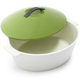 Revol® Revolution Green Oval Cocotte, 4¾ qt.